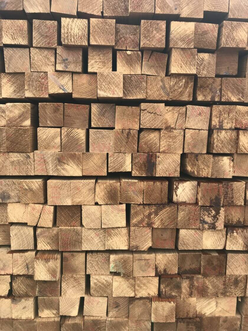 bardage dox square en bois