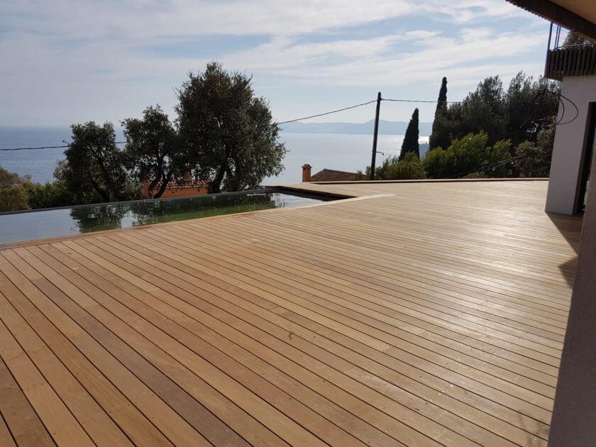 terrasse en bois EXO en IPE de qualité et très durable