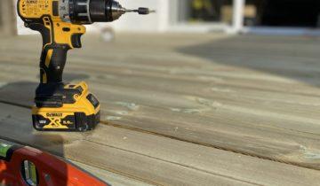 Quelle visseuse pour monter une terrasse en bois ?