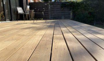 Comment rénover une terrasse en bois ipé avec de l'huile ?
